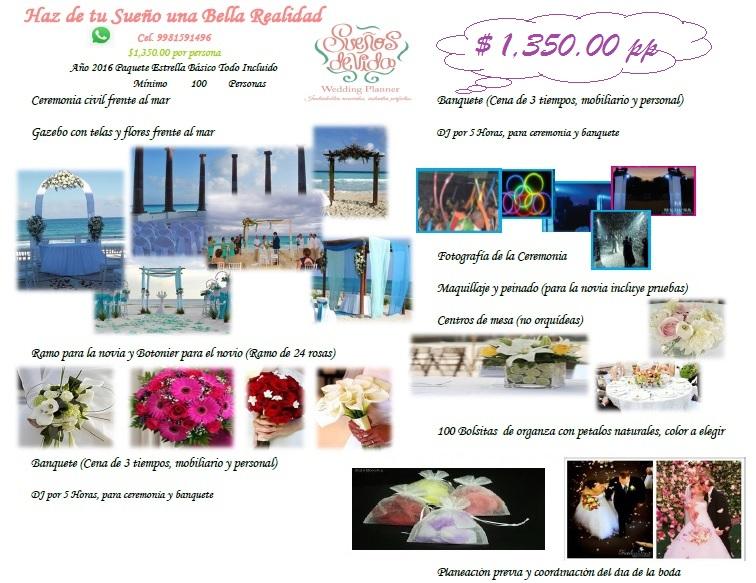 paquetes de bodas cancun
